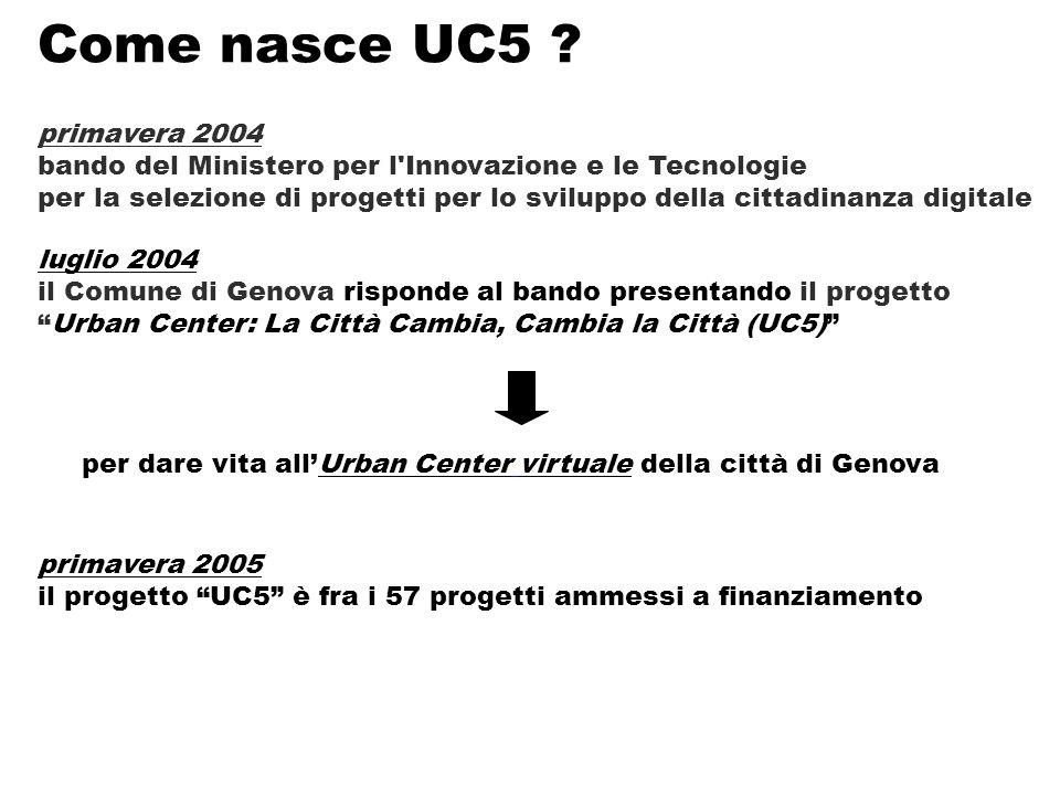 Come nasce UC5 .