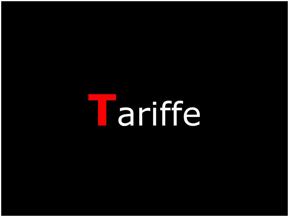 T ariffe