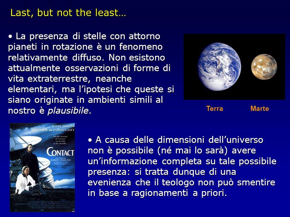 La presenza di stelle con attorno pianeti in rotazione è un fenomeno relativamente diffuso. Non esistono attualmente osservazioni di forme di vita ext