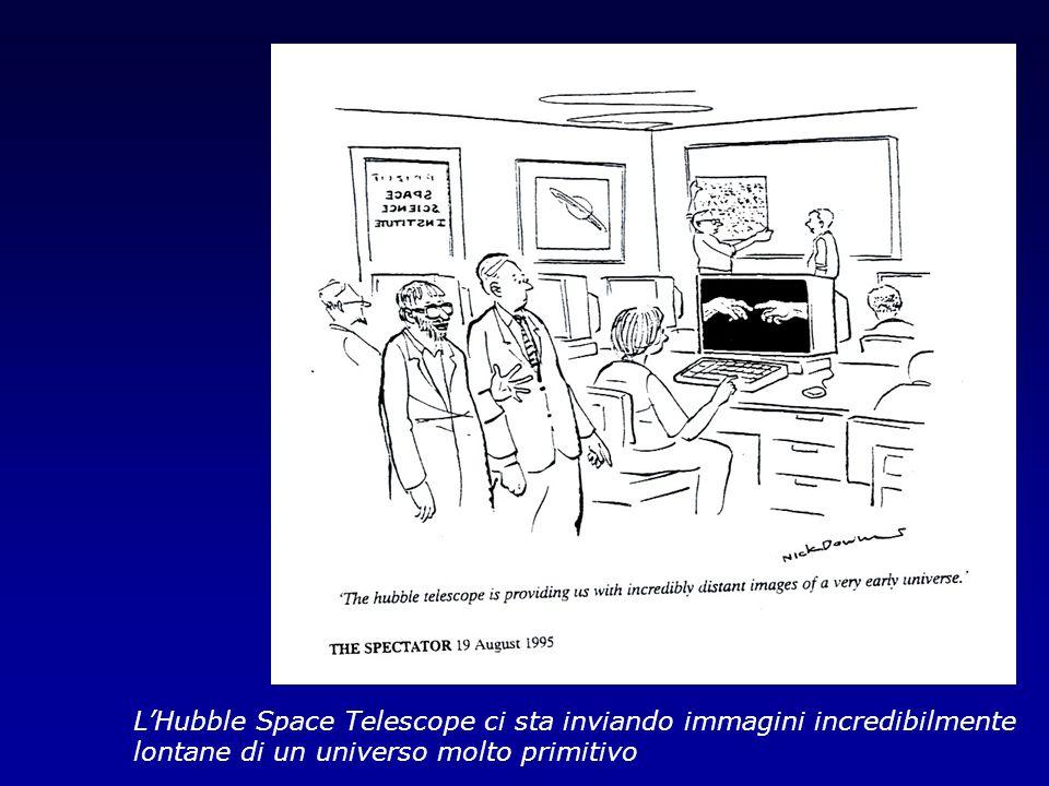 LHubble Space Telescope ci sta inviando immagini incredibilmente lontane di un universo molto primitivo