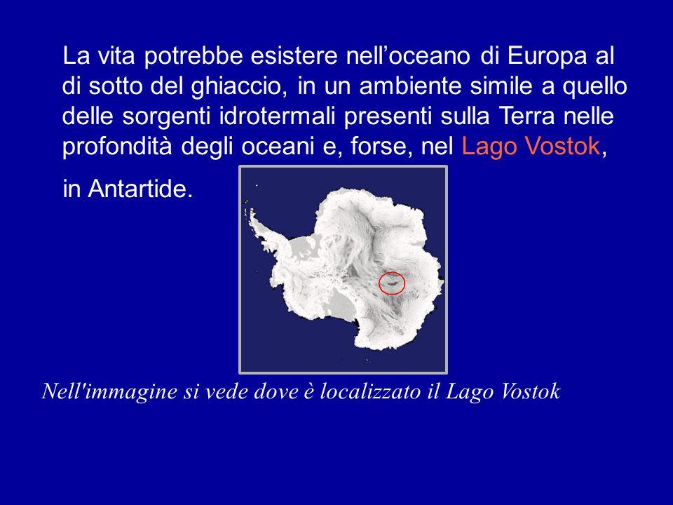 La vita potrebbe esistere nelloceano di Europa al di sotto del ghiaccio, in un ambiente simile a quello delle sorgenti idrotermali presenti sulla Terr