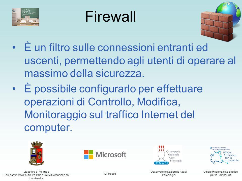 Questura di Milano e Compartimento Polizia Postale e delle Comunicazioni Lombardia Ufficio Regionale Scolastico per la Lombardia Osservatorio Nazional