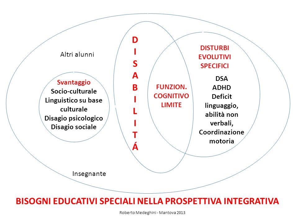 DSA ADHD Deficit linguaggio, abilità non verbali, Coordinazione motoria Svantaggio Socio-culturale Linguistico su base culturale Disagio psicologico D
