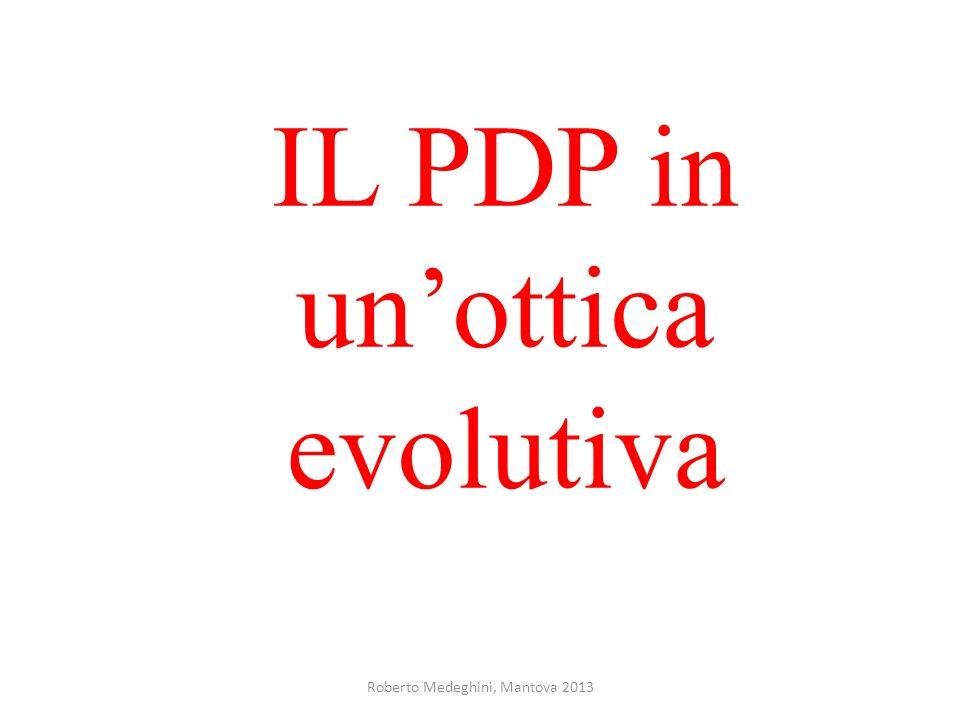 Roberto Medeghini, Mantova 2013 IL PDP in unottica evolutiva