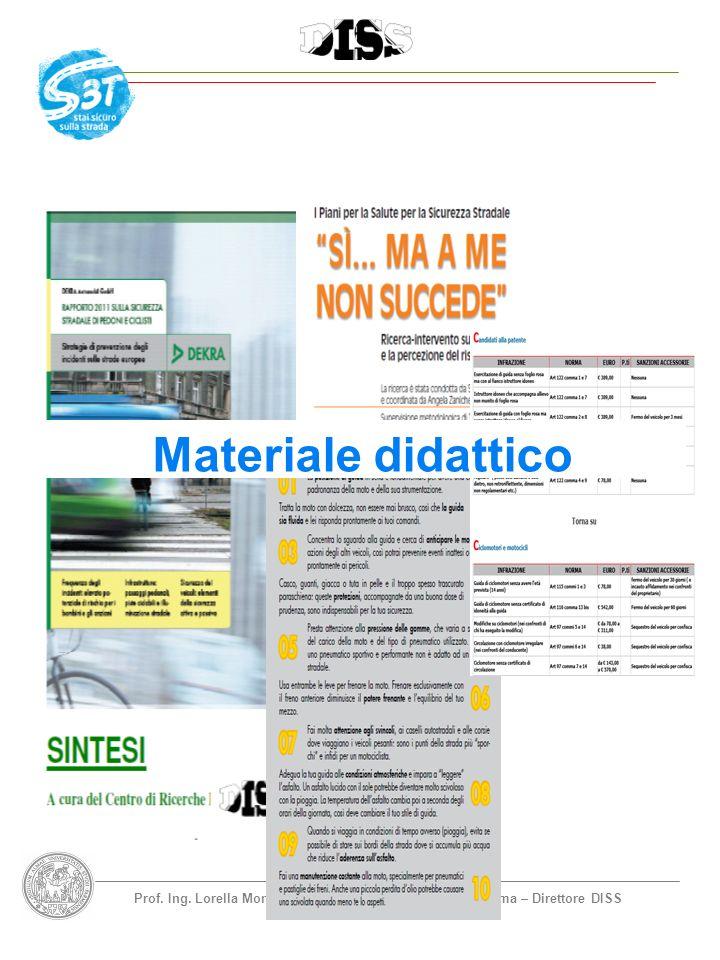 Prof. Ing. Lorella Montrasio - Università degli Studi di Parma – Direttore DISS Materiale didattico