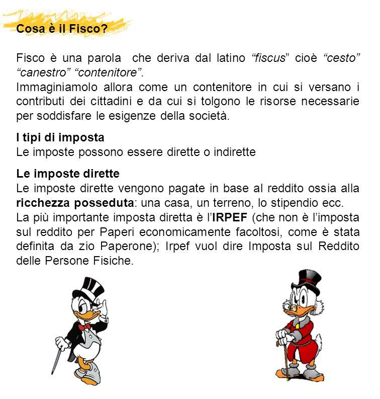 Cosa è il Fisco? Fisco è una parola che deriva dal latino fiscus cioè cesto canestro contenitore. Immaginiamolo allora come un contenitore in cui si v