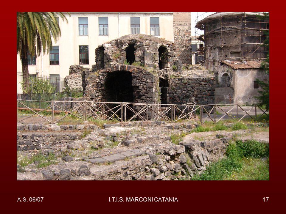 A.S. 06/07I.T.I.S. MARCONI CATANIA17