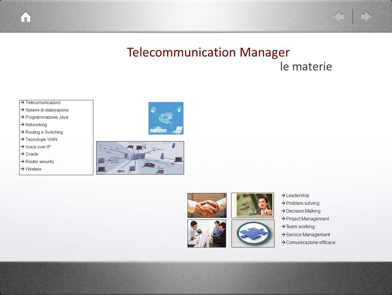 Telecomunicazioni Sistemi di elaborazione Programmazione Java Networking Routing e Switching Tecnologie WAN Voice over IP Oracle Router security Wirel