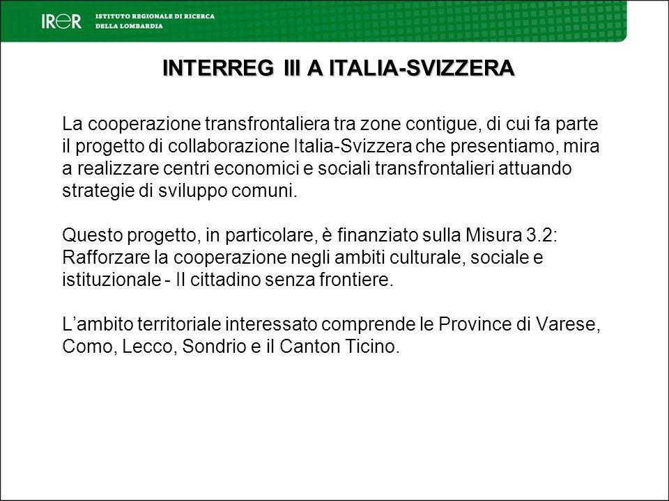 La cooperazione transfrontaliera tra zone contigue, di cui fa parte il progetto di collaborazione Italia-Svizzera che presentiamo, mira a realizzare centri economici e sociali transfrontalieri attuando strategie di sviluppo comuni.