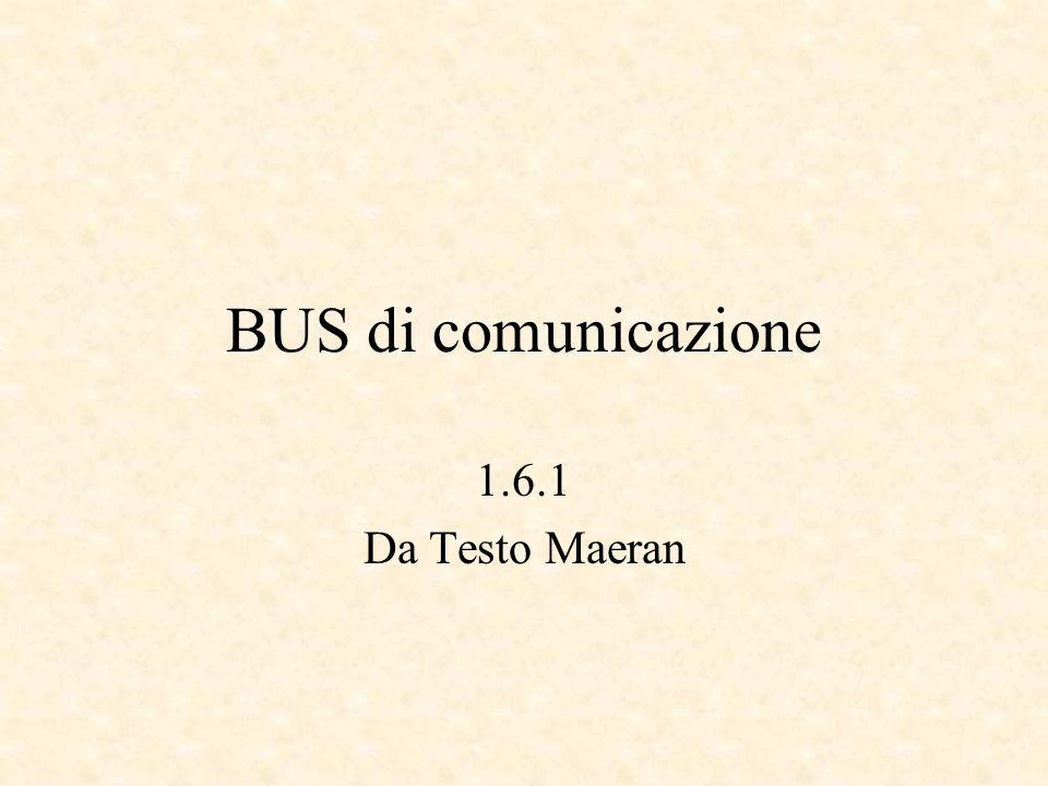 BUS di comunicazione 1.6.1 Da Testo Maeran
