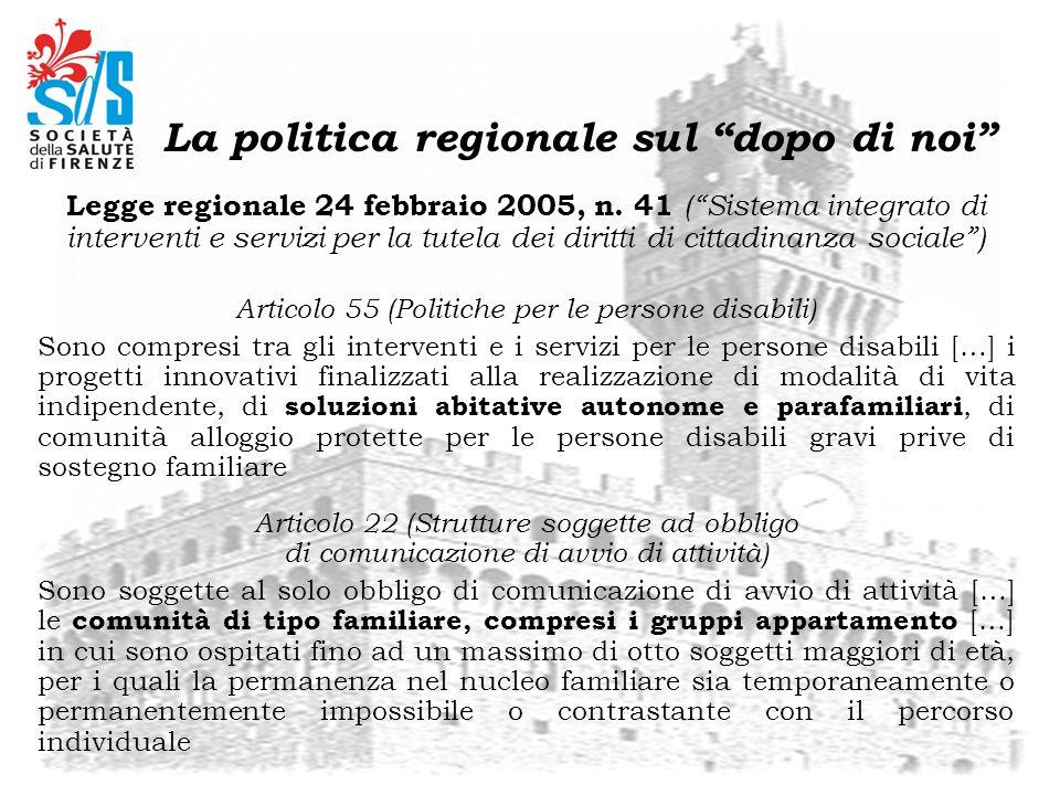 Legge regionale 24 febbraio 2005, n. 41 (Sistema integrato di interventi e servizi per la tutela dei diritti di cittadinanza sociale) Articolo 55 (Pol