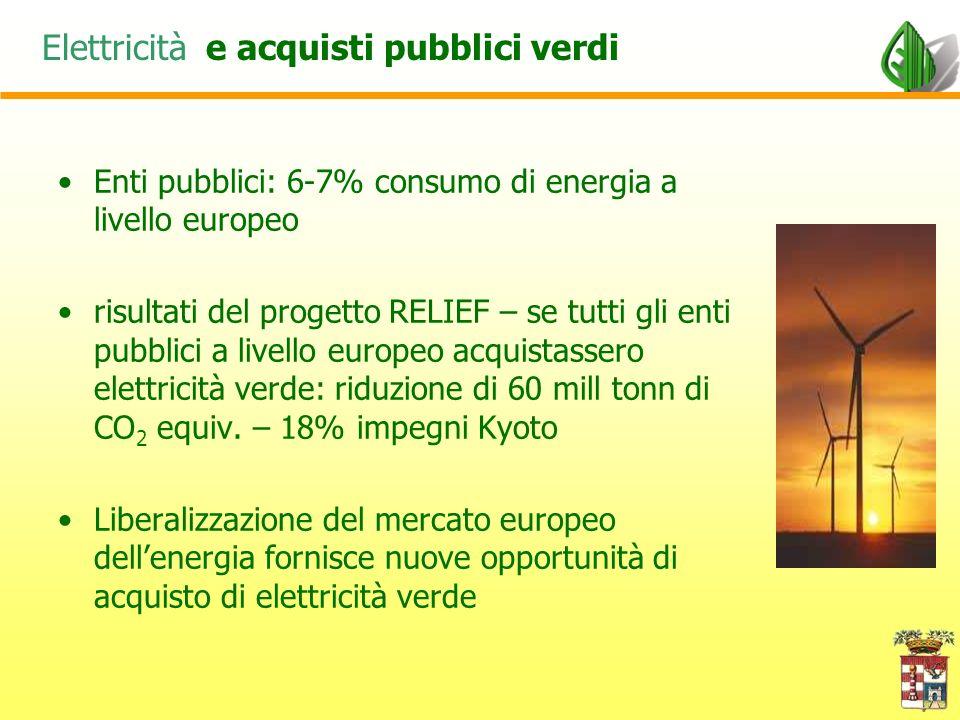Acquistare energia verde in pratica Problematiche relative allacquisto di elettricità verde –Come si definisce verde lelettricità.