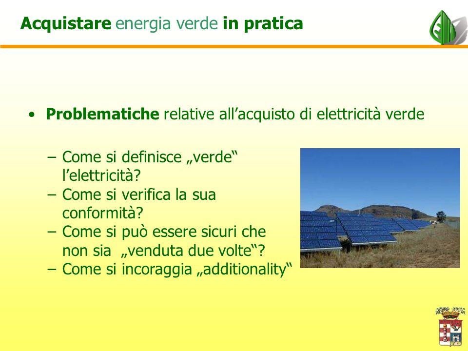 a) Almeno il 50% fellenergia fornita deve provenire da foni energetiche rinnovabili (FER).
