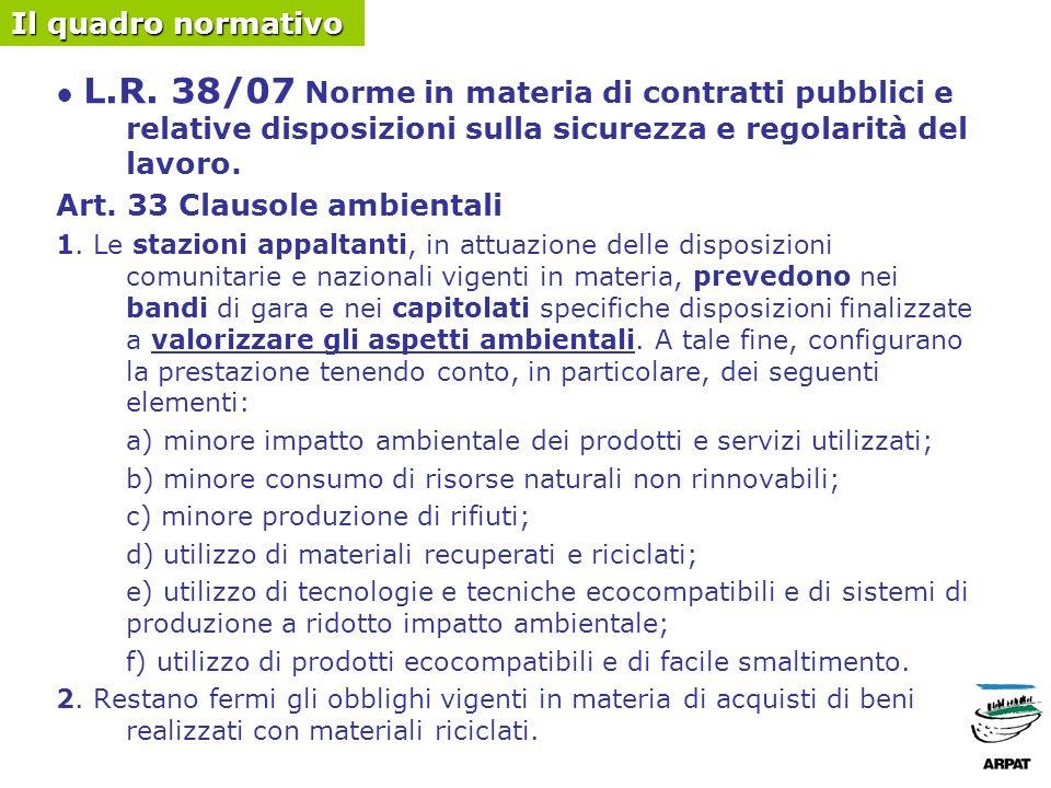 Art.34 Requisiti di capacità delle imprese 1.