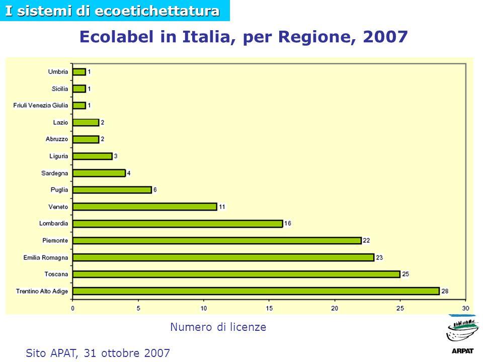Per avere informazioni sui prodotti/servizi con il marchio Ecolabel: www.apat.it I sistemi di ecoetichettatura