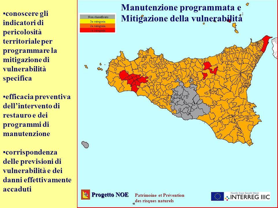 Manutenzione programmata e Mitigazione della vulnerabilità conoscere gli indicatori di pericolosità territoriale per programmare la mitigazione di vul