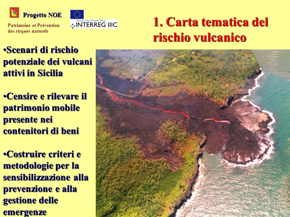 Scenari di rischio potenziale dei vulcani attivi in SiciliaScenari di rischio potenziale dei vulcani attivi in Sicilia Censire e rilevare il patrimoni