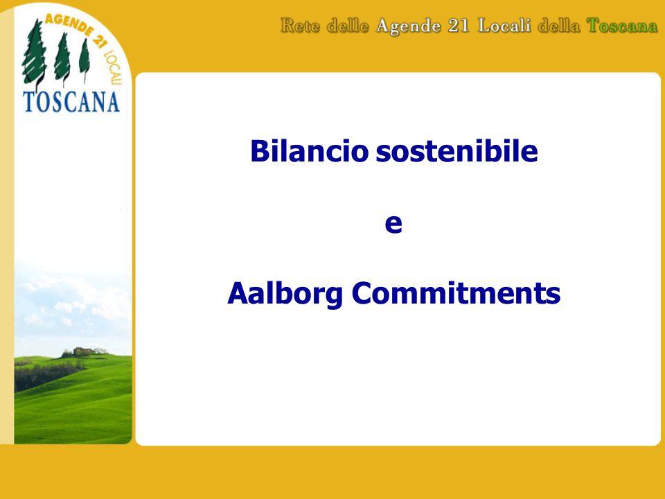 Bilancio sostenibile e Aalborg Commitments