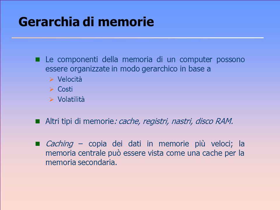Gerarchia dei dispositivi di memoria