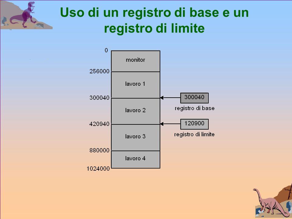 Uso di un registro di base e un registro di limite