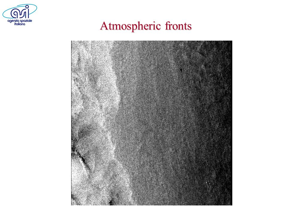Atmospheric fronts