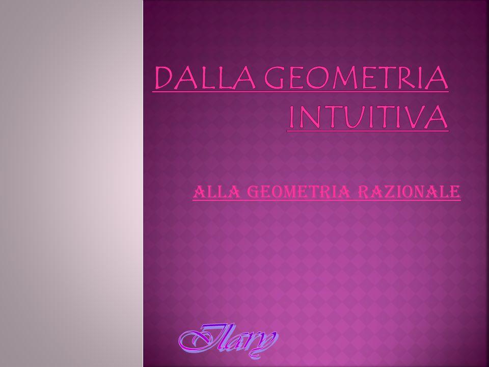 Alla geometria razionale