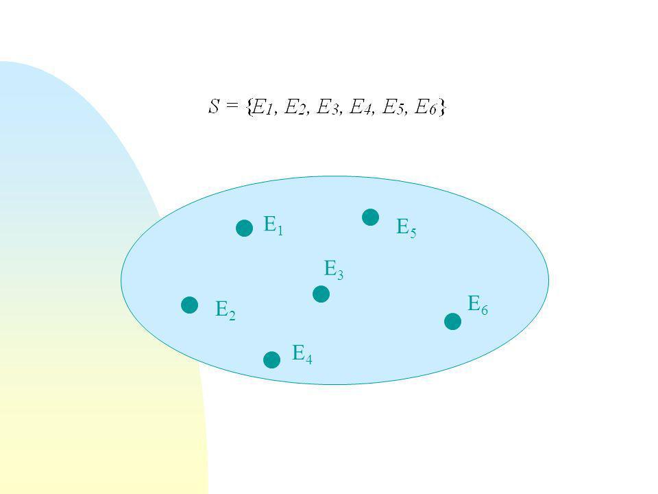 Gli eventi semplici sono costituiti da uno solo dei possibili risultati di un esperimento aleatorio.