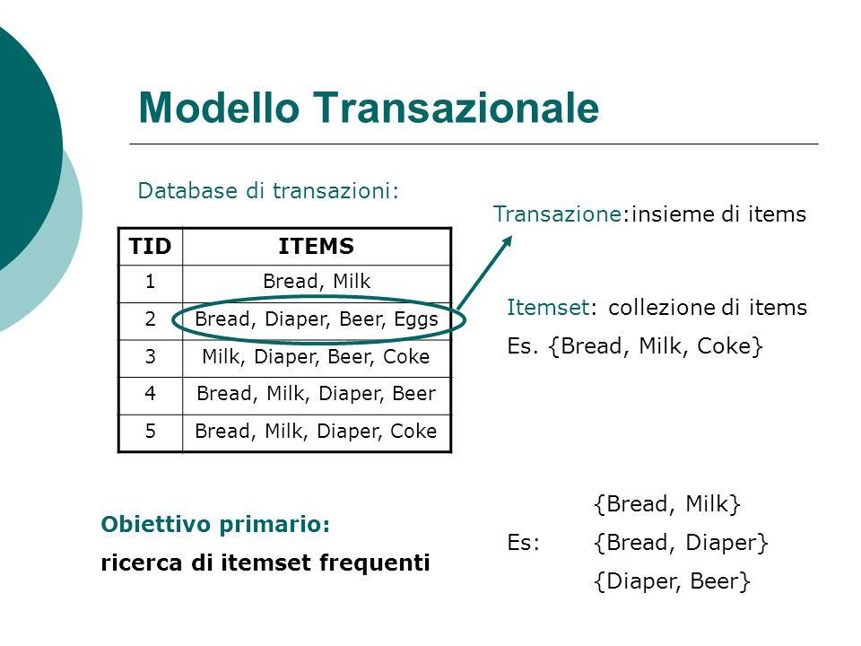 Modelli alternativi In molti ambiti gli oggetti del dataset vengono rappresentati mediante strutture dati più complesse, ad es.