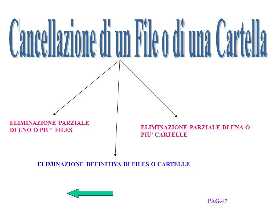 SESTA LEZIONE ELENCO LEZIONIESERCITAZ. PAG.47-48