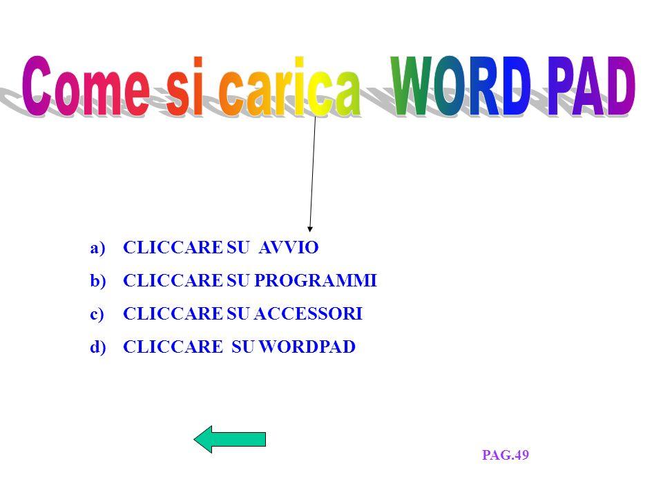 SETTIMA LEZIONE ELENCO LEZIONIESERCITAZIONE PAG. 49-50-51