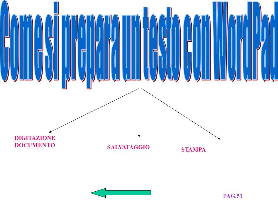 a)SI CLICCA SU RISORSE DEL COMPUTER b)SI CLICCA SU STAMPANTI c)SI CLICCA SU STAMPANTE IN USO PAG.51
