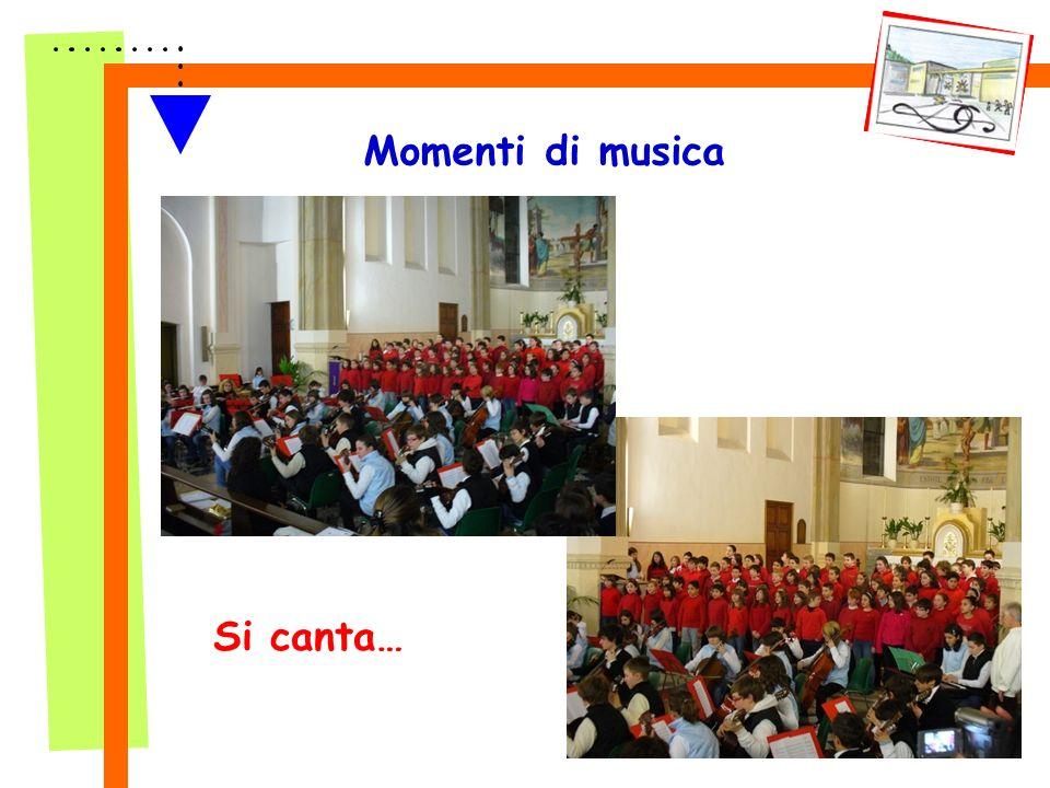 Momenti di musica Si canta…