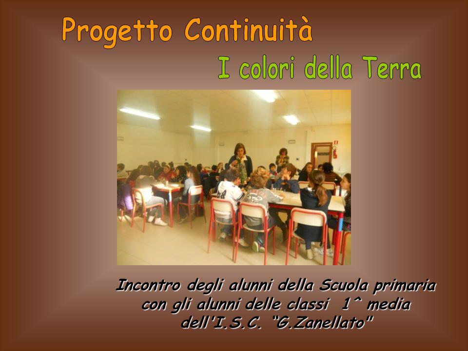 Incontro degli alunni della Scuola primaria con gli alunni delle classi 1^ media dell'I.S.C. G.Zanellato