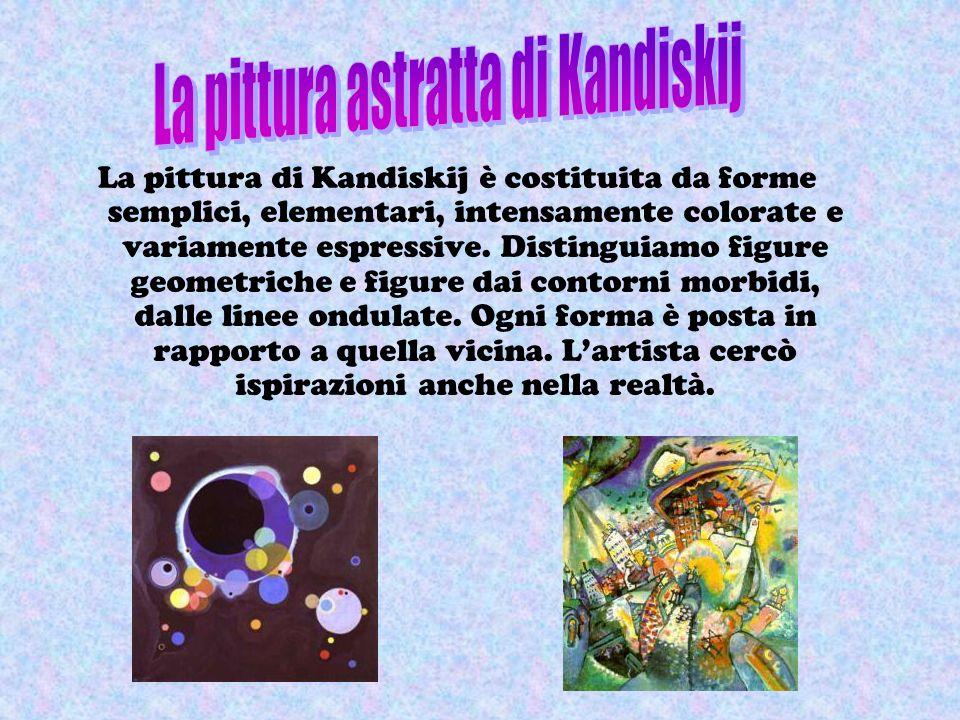 utilizzando il microscopio siamo riusciti ad entrare in un microcosmo ricco di forme inconsuete e sconosciute … e allora abbiamo pensato a Kandiskj, a
