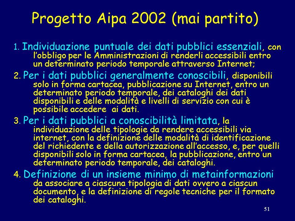 51 Progetto Aipa 2002 (mai partito) 1.