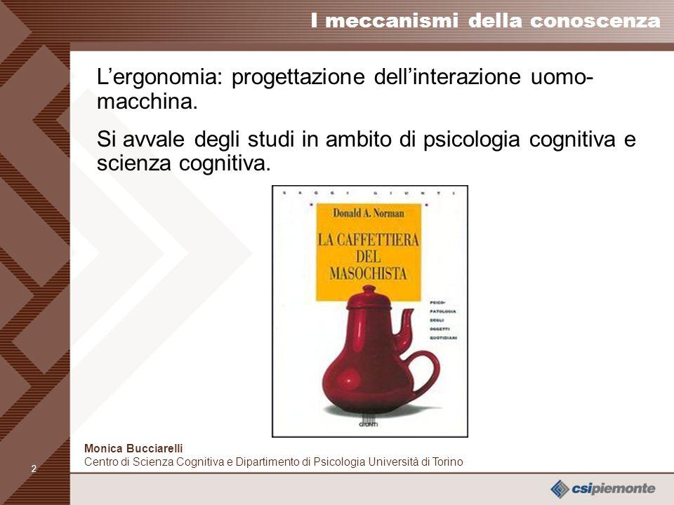 1 Monica Bucciarelli Centro di Scienza Cognitiva e Dipartimento di Psicologia Università di Torino Ricordare da un punto di vista psicologico Per capi