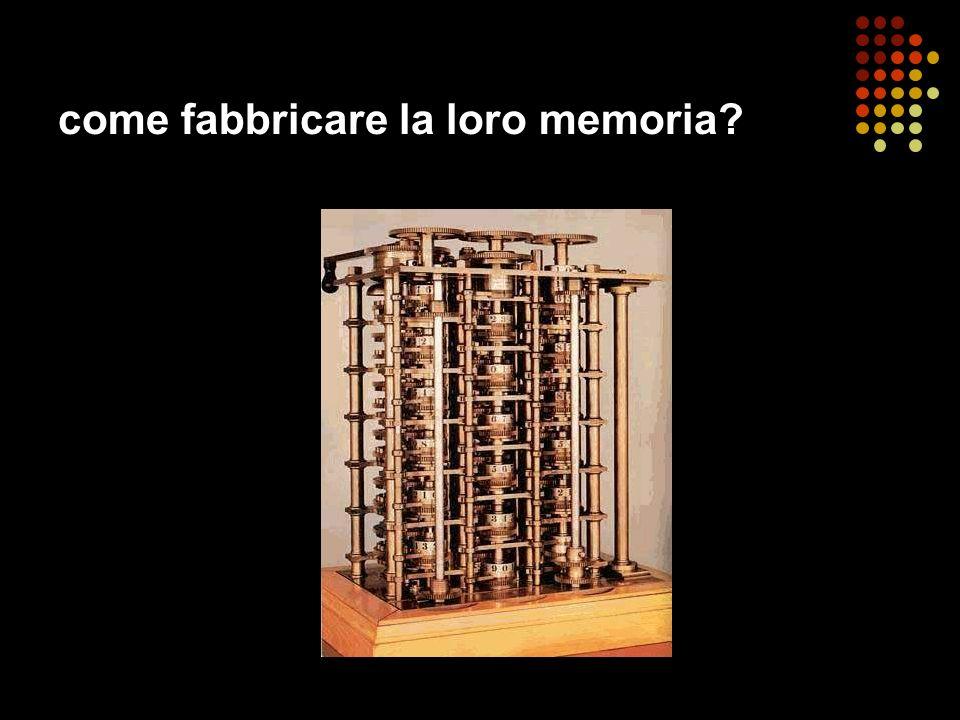come fabbricare la loro memoria?