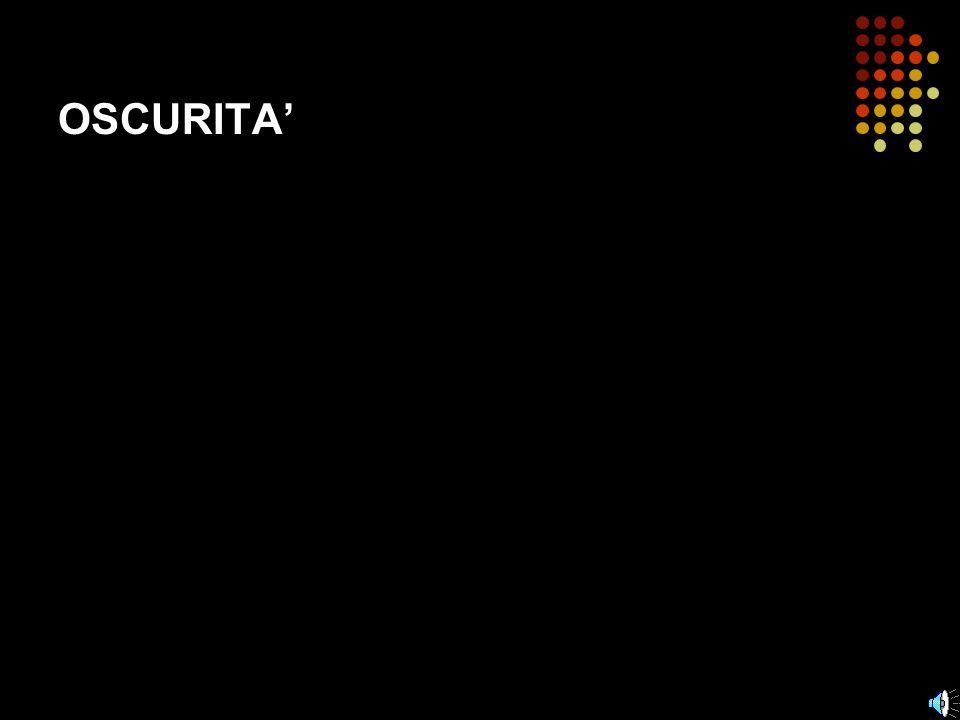 OSCURITA