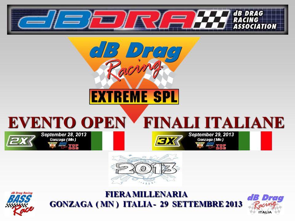EVENTO OPEN FINALI ITALIANE FIERA MILLENARIA GONZAGA ( MN ) ITALIA - 29 SETTEMBRE 2013