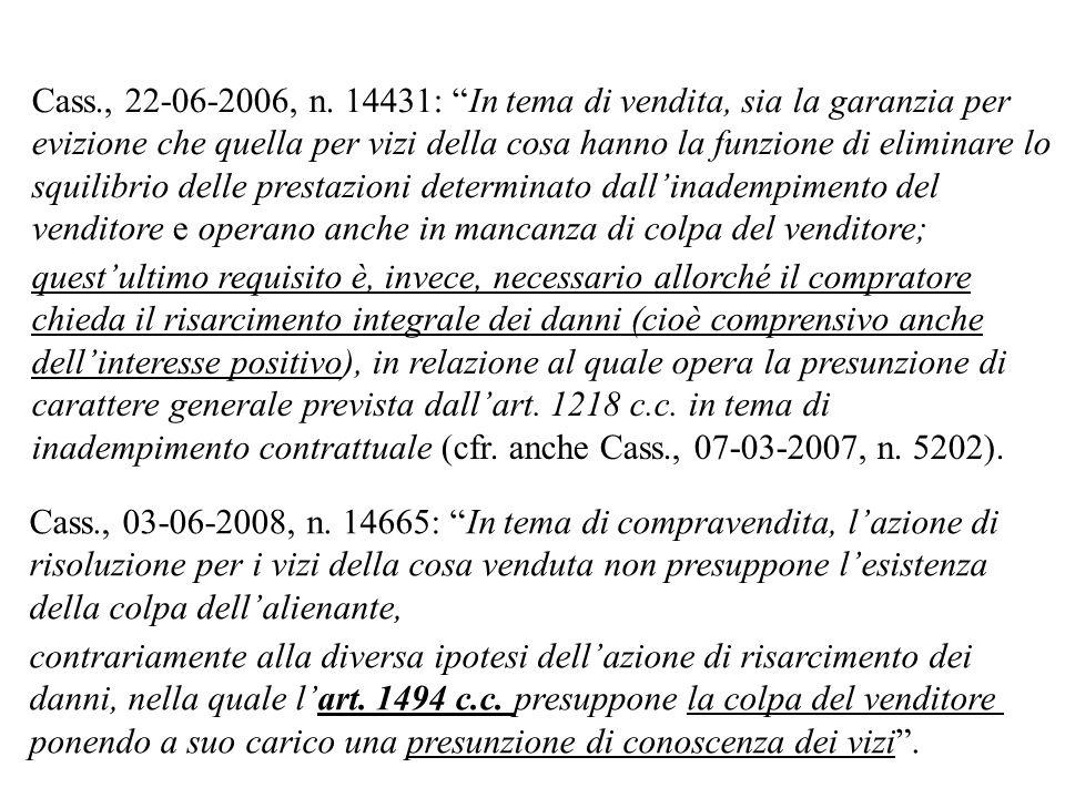 Cass., 22-06-2006, n.