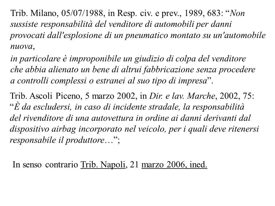 Cass., 05-03-2008, n.6007: In tema di vizi della cosa venduta la disposizione dell art.