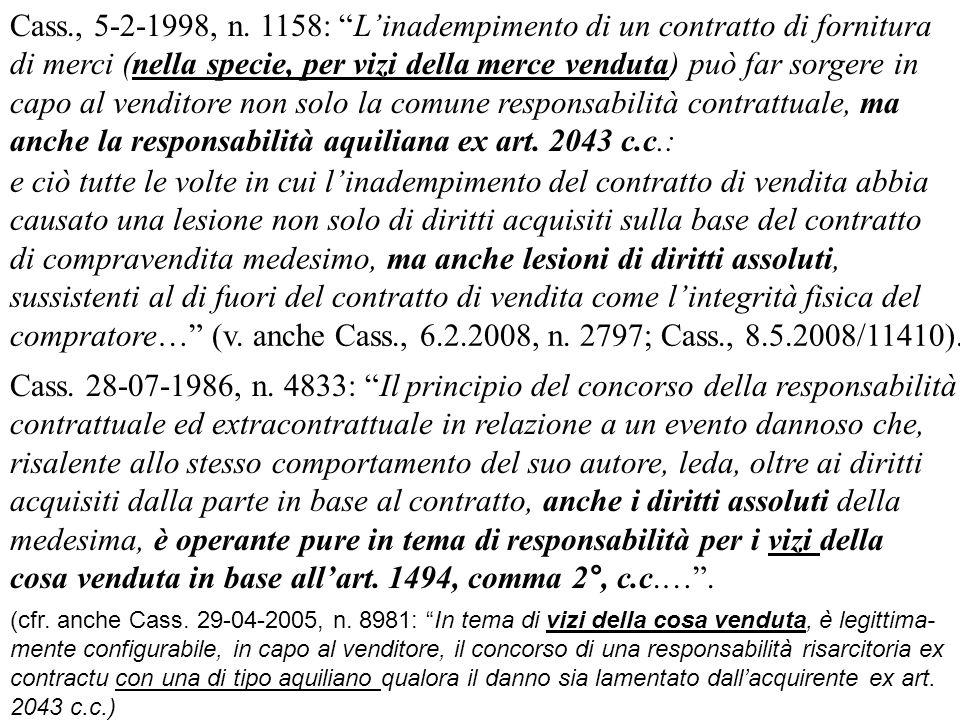 Cass.28-07-1986, n.