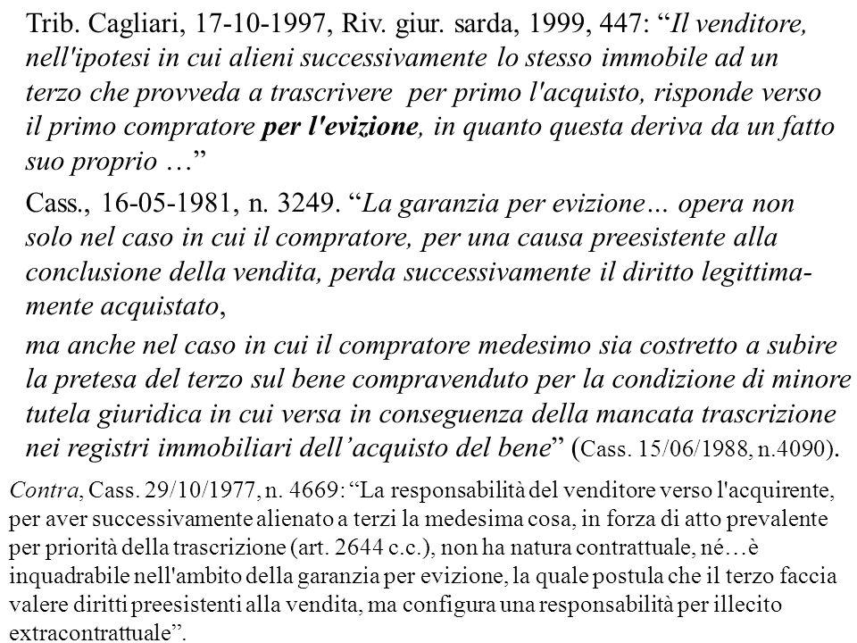 Trib.Cagliari, 17-10-1997, Riv. giur.