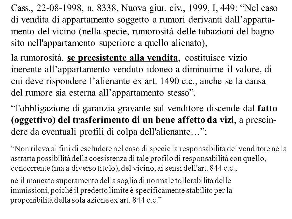 Cass., 05-08-1985, n.