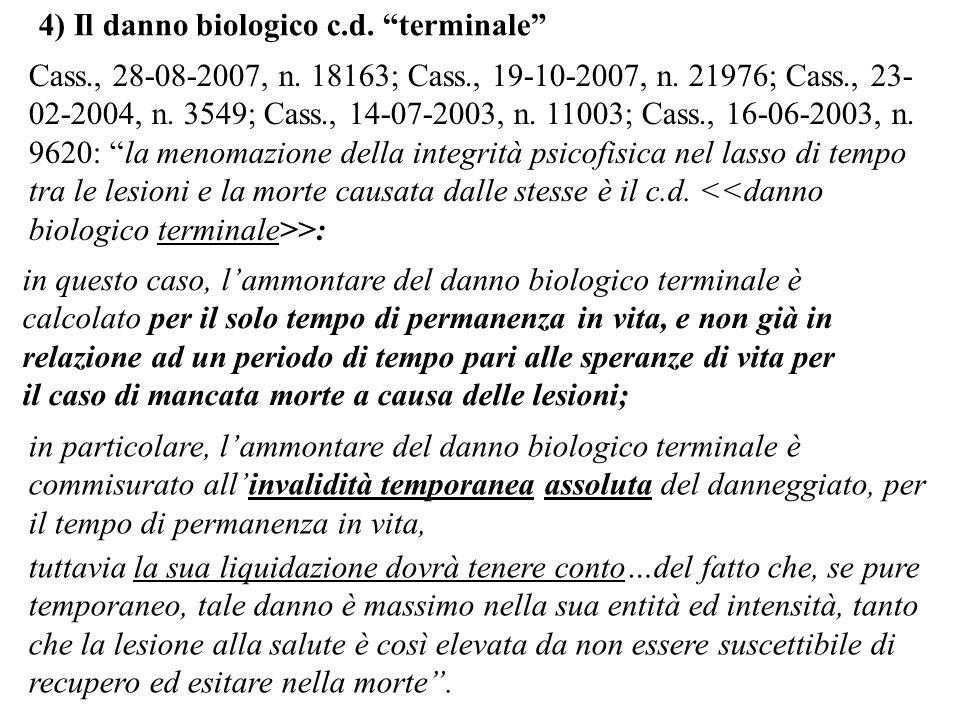 Cass., 28-08-2007, n. 18163; Cass., 19-10-2007, n. 21976; Cass., 23- 02-2004, n. 3549; Cass., 14-07-2003, n. 11003; Cass., 16-06-2003, n. 9620: la men
