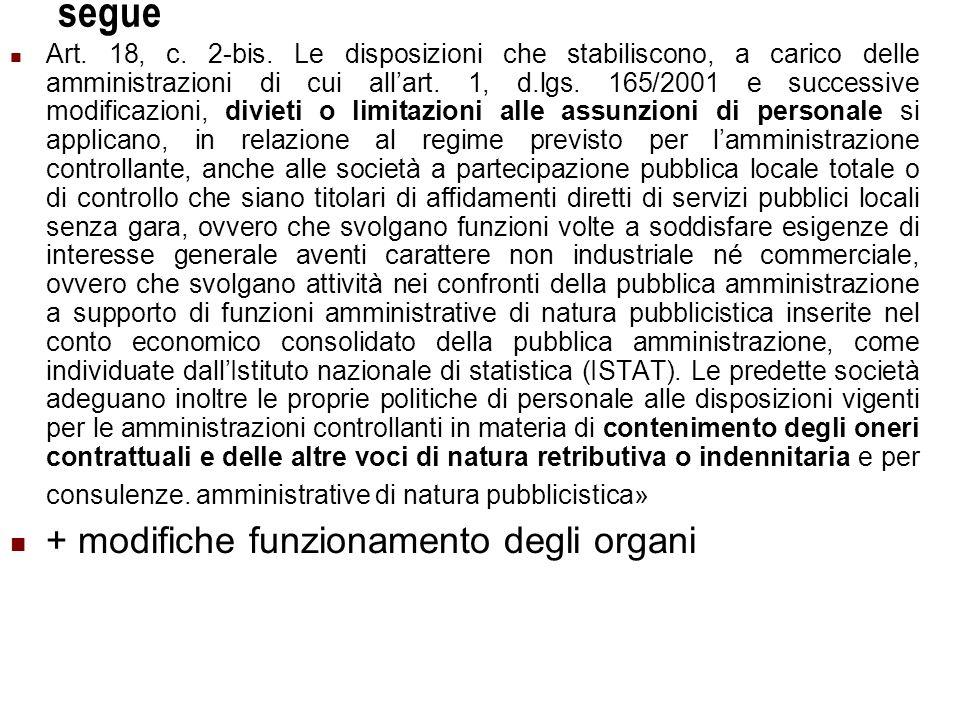 Università Commerciale L.Bocconi - Milano 11 segue Art.