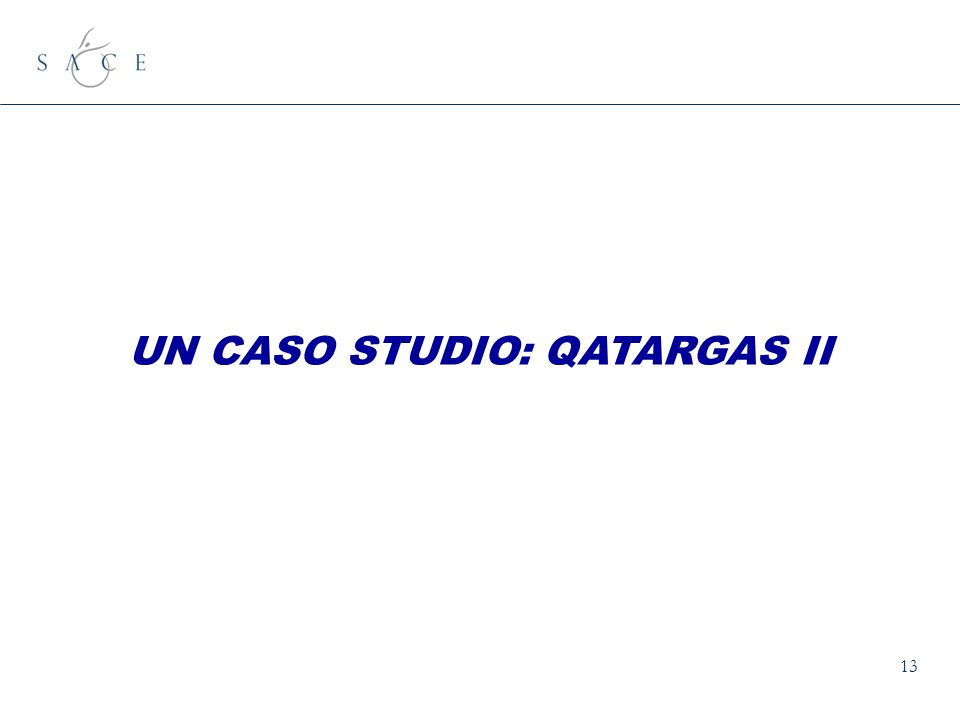 13 UN CASO STUDIO: QATARGAS II