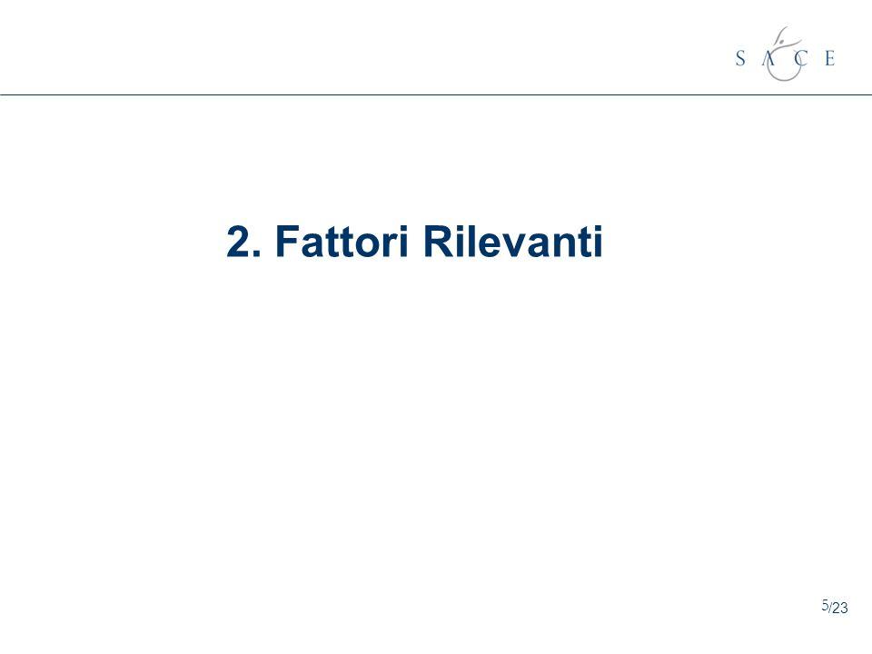 5 2. Fattori Rilevanti /23