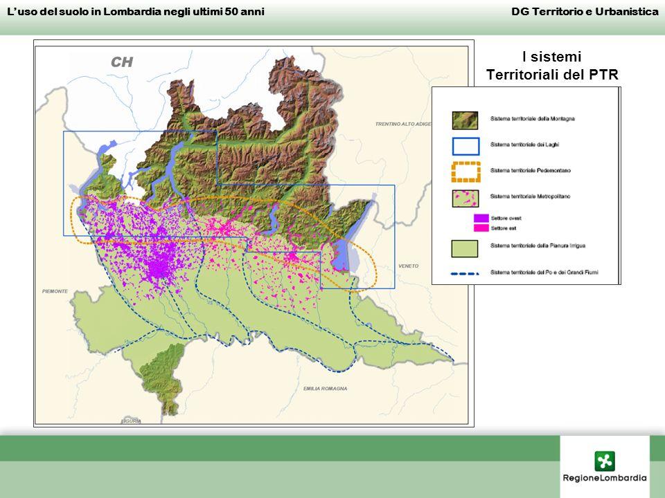 I sistemi Territoriali del PTR