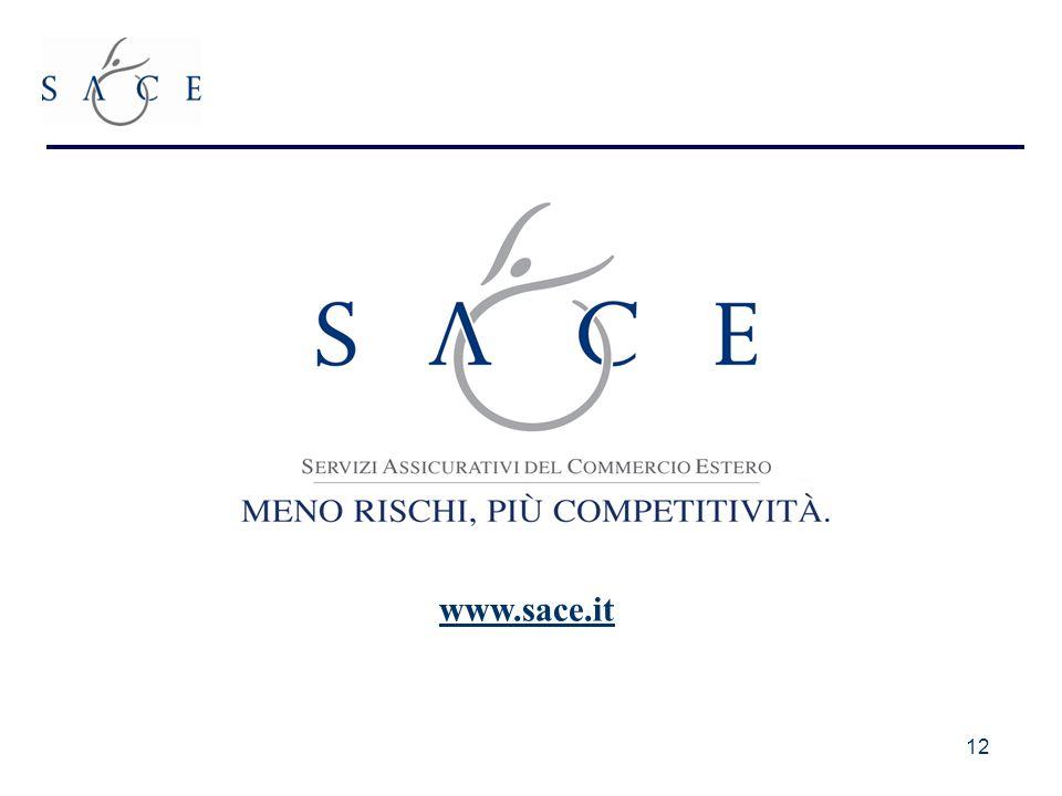 12 www.sace.it